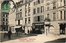 DIEDENHOFEN (THIONVILLE) (57) La Place Au Bois - Cachet Allemand - Belle Carte Postée En 1911 - Thionville