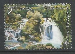Bosnien Und Herzegowina  1999  Mi.Nr. 165 , EUROPA CEPT - Natur- Und Nationalparks - Gestempelt / Fine Used / (o) - 1999