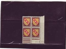 N°757 - 50c Blason De LA LORRAINE -B De A+B - 3° Tirage Du 12.09 Au 24.9.46 - 13.09.1946 - - 1940-1949
