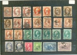 """Petit Lot """" ANCIENS ETATS-UNIS """" Nombreux 2ème Choix - Lots & Kiloware (mixtures) - Max. 999 Stamps"""