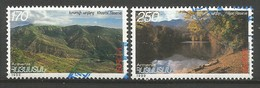 Armenien   1999  Mi.Nr. 353 / 354 , EUROPA CEPT - Natur- Und Nationalparks - Gestempelt / Fine Used / (o) - 1999