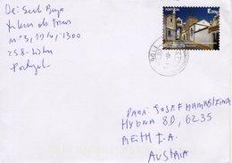 Auslands - Brief Von 1000 110 Lissabon Lisboa Mit Marke UNESCO E20G 2019 - Briefe U. Dokumente