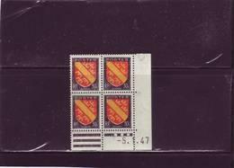 N°756 - 30c Blason D' ALSACE - A De A+B - 3° Tirage/1° Partie Du 3.1.47 Au 23.01.47 - 5.01.1947  ( Tirage D'un Dimanche) - 1940-1949