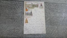 Souvenir De Liège  1896 Lithographie  Piette - Liege