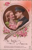 ***   Militaria Aviateur  Un Seul Amour  -  Neuve Excellenrt état - Coppie