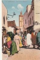 ***   Casablanca - Rue De Sale Et Mosquée - TTB écrite - Casablanca