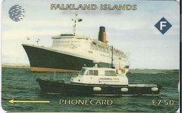FALKLAND ISLANDS - QUEEN ELIZABETH - 40.000EX - 2CWFCA - Falklandeilanden