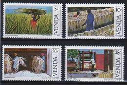 Venda 1982 Complete Set Of Stamps Celebrating Sisal Cultivation. - Venda