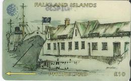 FALKLAND ISLANDS - COMPANY OFFICE - 20.000EX - 3CWFCB - Falklandeilanden