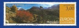 Andorra Französische Post 1999  Mi.Nr. 535 , EUROPA CEPT - Natur- Und Nationalparks - Gestempelt / Fine Used / (o) - 1999