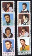 1140 - ST. VINCENT ,  Serie N. Yvert 870/877  *** Elvis Presley - St.Vincent (1979-...)