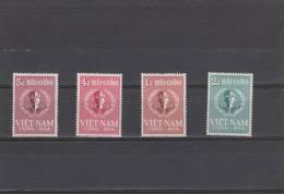 Vietnam Del Sur Nº 94 Al 97 - Vietnam