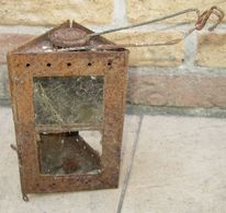 "Lanterne Montjardet WW1 Etat ""Relique"" - 1914-18"
