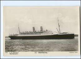 U6810/ Dampfer S.S. Montroyal  Foto Ak 1931  - Steamers