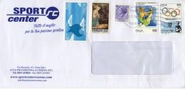 Auslands - Brief Von Bologna Mit 2230 Lire Schöner Mischfrankatur 2019 - 6. 1946-.. Republik