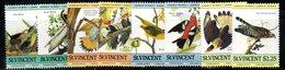 CI1141 - ST. VINCENT 1985 , Audubon La Serie 812/819  *** - St.Vincent (1979-...)