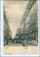 U6773/ Lisboa Lissabon Rua Du Ouro  Straßenbahn AK Ca.1912 Portugal - Portugal