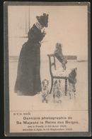 ROUWKAART - DERNIERE PHOTOGRAPHIE DE SA MAJESTE LA REINE DES BELGES - NEE A PESTH 1836 - DECEDEE SPA 1902 - Familles Royales