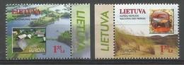 Litauen / Lietuva 1999 Mi.Nr. 693 / 694 , EUROPA CEPT - Natur-und Nationalparks - Postfrisch / MNH / (**) - Lithuania