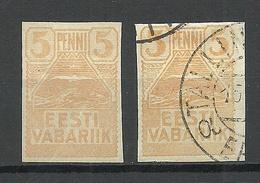 Estland Estonia 1919 Michel 5 Mint * + Used - Estonia