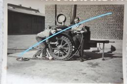 Photo ABL Cuisine Roulante Armée Belge Vers 1935 Militaria - Krieg, Militär