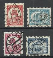 Estland Estonia 1932 University Michel 94 - 97 O - Estonia