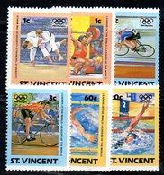 CI1142 - SAINT VINCENT , OLIMPIADI 1984 : N. 766/773   *** - St.Vincent (1979-...)