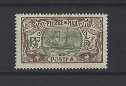 ST PIERRE ET MIQUELON.  YT  N° 93  Neuf *  1909 - Nuovi