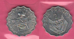 2 Franchi Francs Rwanda 1970 FAO - Rwanda