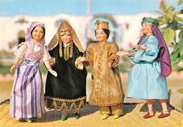 Tunisie - NABEUL - Poupées En Habits Folkloriques - Région De Cap Bon - Tunisia