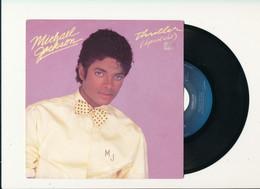 "MICHAEL JACKSON "" THRILLER "" Disque EPIC 1982   TRES BON ETAT - Rock"