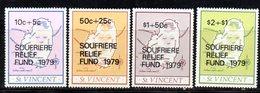 CI1122 - SAINT VINCENT 1979, Serie Yvert N. 530/533   *** - St.Vincent (1979-...)