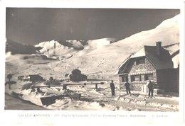 AD ANDORRE - Claverol 281 - PAS DE LA CASA - Frontière Franco Andorane  - Skieurs - Animée - Belle - Andorra