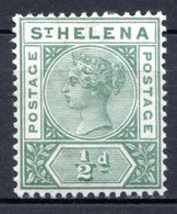 SAINTE HELENE - (Colonie Britannique) - 1890-97 - N° 20 - 1/2 P. Vert - (Victoria) - Saint Helena Island