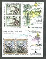 Corea Del Sur - Hojas 1995 Yvert 486/7 ** Mnh  Literatura - Corea Del Sur