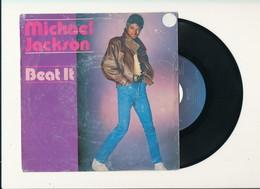"""MICHAEL JACKSON """" BEAT IT """" Disque EPIC 1982   POCHETTE DEFRAICHIE - Rock"""