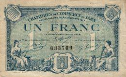6980-2019    BILLET CHAMBRE DE COMMERCE DU TARN - Chambre De Commerce