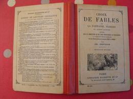 Choix De Fables De La Fontaine Florian Viennet Bérenger Houdart Naudet. . Hachette 1912 . Gustave Doré - Books, Magazines, Comics