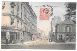 CPA.   .    PARIS ...XIX °  RUE DE TANGER ...  EDITEUR  EV.. N°210..  1906...TBE SCAN... - Arrondissement: 19