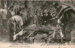 (105) CPA  Carrieres Sous Bois  Hopital  Mechoui    (Bon état) - France
