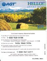 CANADA - Landscape, AGT Prepaid Card $20, Used - Canada