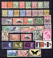 Iles Salomon Belle Petite Collection 1908/1972. Bonnes Valeurs. B/TB. A Saisir! - Iles Salomon (...-1978)
