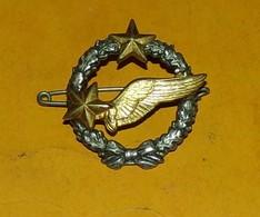 Brevet D'Elève Pilote, Actuel, Dos Guilloché Embouti, Fixation 2 Anneaux, FABRICANT DRAGO,HOMOLOGATION SANS,  BON ETAT V - Esercito