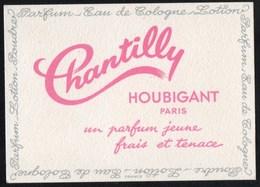 Vieux Papiers > Publicités Parfum Chantilly HOUBIGANT - Publicités