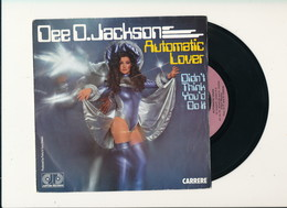 "DEE D. JACKSON "" AUTOMATIC LOVER "" Disque CARRERE 1978   TRES BON ETAT !! - Rock"