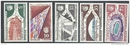 "Tunisie YT 622 à 626 "" Jeux Sportifs à Tunis "" 1967 Neuf** - Tunisie (1956-...)"