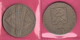 10 Zloty 1971 FAO Polonia Poland - Polonia