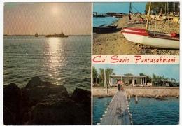 CA' SAVIO - PUNTASABBIONI - PUNTA SABBIONI - CAVALLINO - TREPORTI - VENEZIA - 1969 - VEDUTE - Chioggia