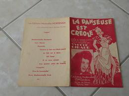 La Danseuse Est Créole (Yvette Giraud)-(Paroles Jacques Plante)-(Musique Louiguy) Partition - Liederbücher