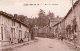 (105) CPA  Allichamps  Rue De Louvemont   (Bon état) - Other Municipalities
